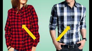 Почему у женщин пуговицы на одежде находятся слева, а у мужчин — справа