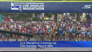 Running The LA Marathon Next Month? Tips On How To Prepare