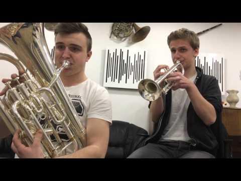 Super Mario Theme (Trumpet & Euphonium)