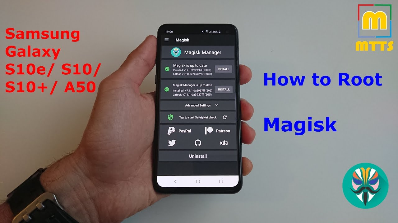 How to Root Samsung Galaxy S10e/ S10/ S10+ with Magisk - Full Video Guide