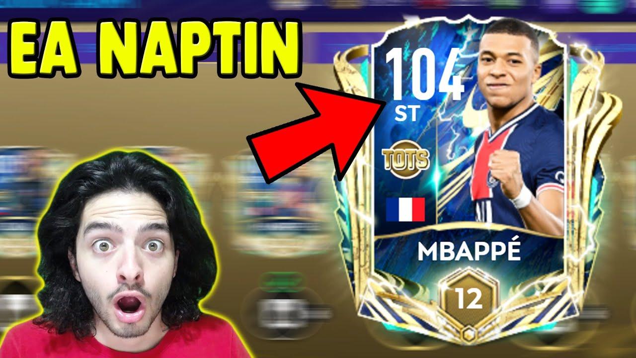 ŞU OLANA BAKINN YUHH !! 104 UTOTS MBAPPE ALDIM (FIFA Mobile)
