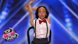 TOP 10 KID Dance Auditions On Got Talent 2020!