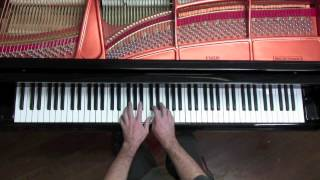 Bach - Toccata and Fugue in D minor BWV 565 - P. Barton, harmonic pedal piano