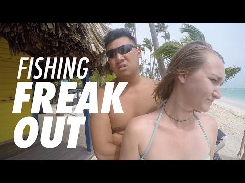 GOPRO Travel Vlog: Surf Fishing the Dominican Republic - Fish World 10