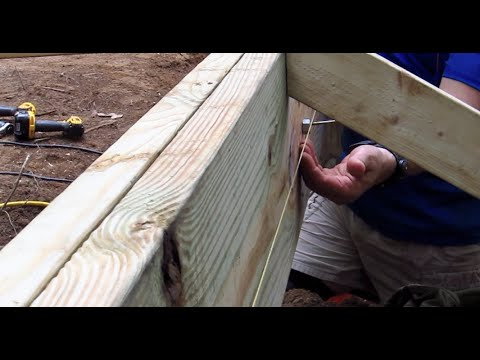 DIY Shed AsktheBuilder How to Straighten a Beam