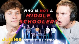 Can We Spot Who The Fake MIDDLE SCHOOLER Is?  - Jubilee React