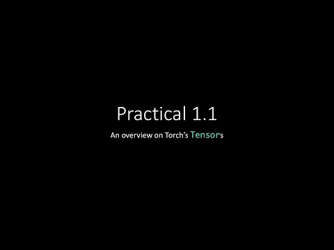 Practical 1.1 – Torch