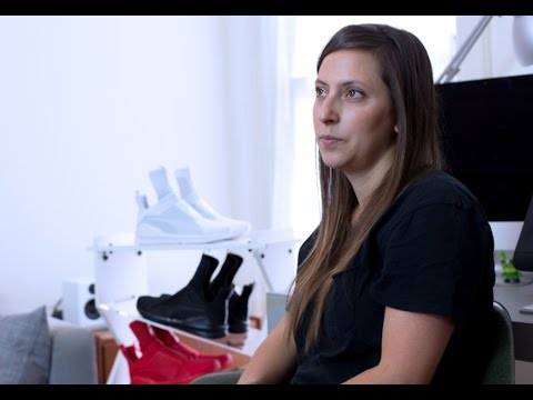 Advice for aspiring footwear designers - Louisa Page