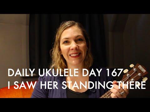 I Saw Her Standing There Ukulele Cover The Beatles Daily Ukulele