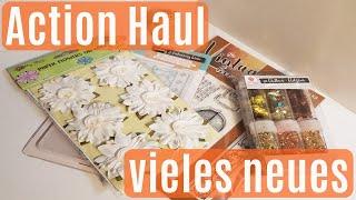 Action Haul ✿ November Haul ✿ Wieder neue Sachen ?! ✿ Bastelmaterial ✿ Basteln mit Papier