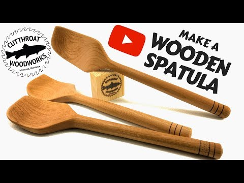 Make A Wooden Spatula | Woodworking How to