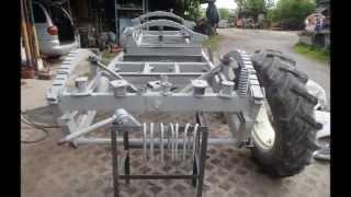 Remont,piaskowanie i malowanie przyczep Autosan D-47