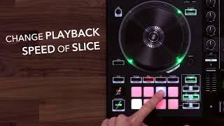 Roland DJ-505: Slicer