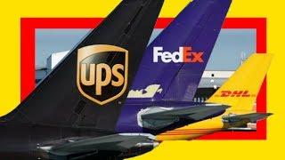 Estas son las 3 Empresas que Controlan los Envíos de Paquetes