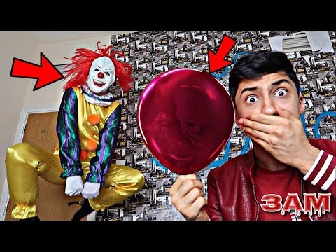 DO NOT BLOW UP IT MOVIE RED BALLOON AT 3AM!! *OMG PENNYWISE DANCED*