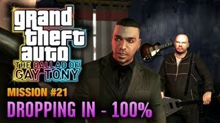 GTA: The Ballad of Gay Tony - Mission #21 - Dropping In [100%] (1080p)