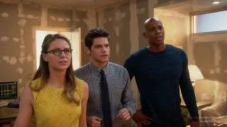 Supergirl 1x18 Barry and Kara , Supergirl x The Flash Crossover