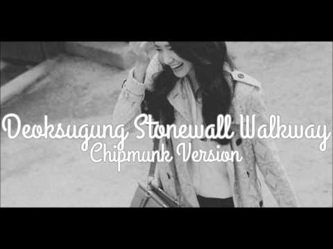 Yoona (SNSD) - Deoksugung Stonewall Walkway Feat. 10cm [Chipmunk Version]