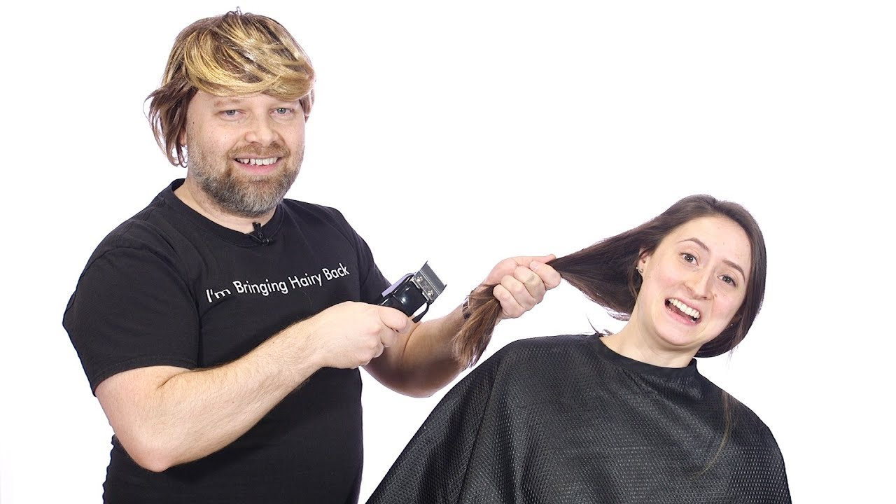 Frank Gets A Walk In Haircut Thesalonguy Youtube