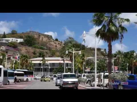 A walking tour in Marigot, Saint Martin