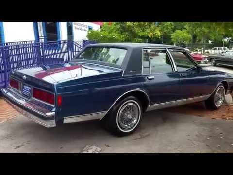 1989 Chevrolet Caprice Brougham @ Karconnectioninc.com Miami, FL