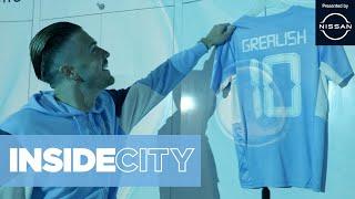 Jack Grealish's First Day at Man City