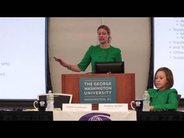 ITS 9/29/16: Trade Economic Development & Capacity Building Katrin Kuhlmann & Andrea Durkin Part 2