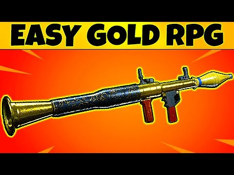 How To Get EASY Gold Camo RPG In Call Of Duty Modern Warfare, MW Completionist Guide