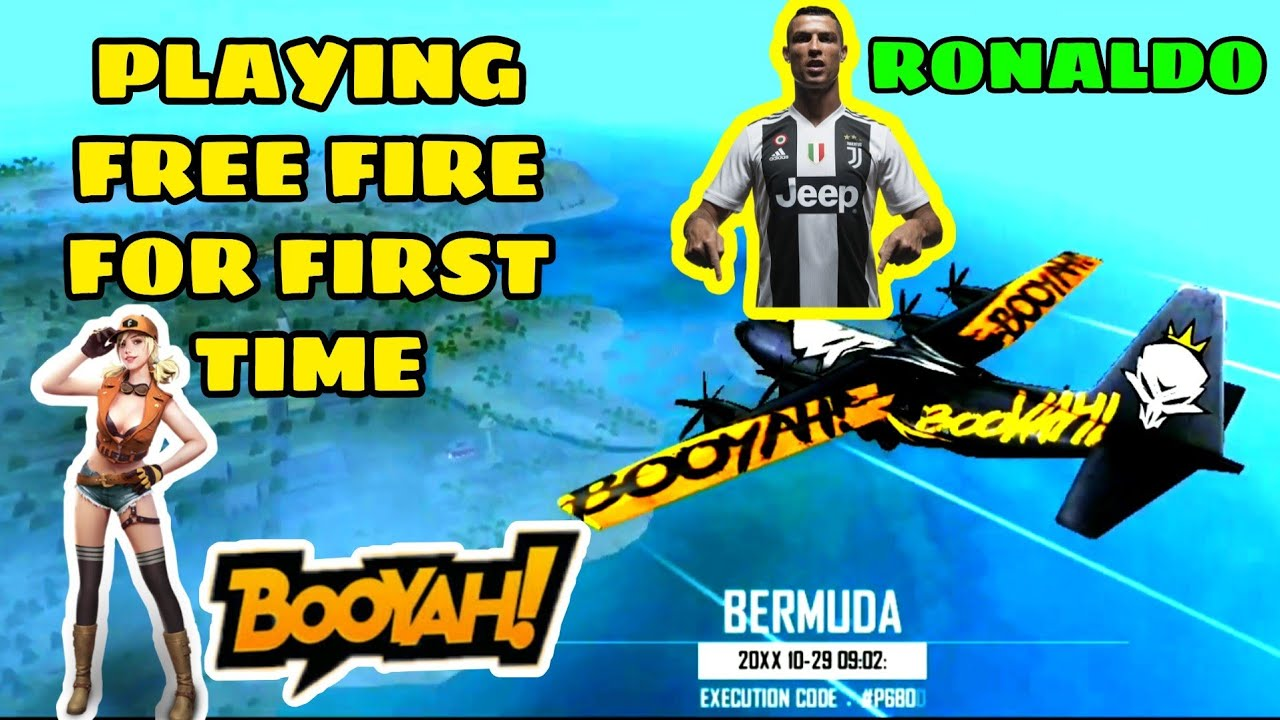 Free Fire Booyah! First Time Free Fire Gameplay | Gaming With PUN | PUBG MOBILE BAN 😭