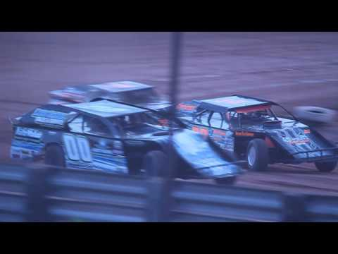 (Part 1/2) 7-16-16 ABC Raceway Modified Heat Jeff Spacek