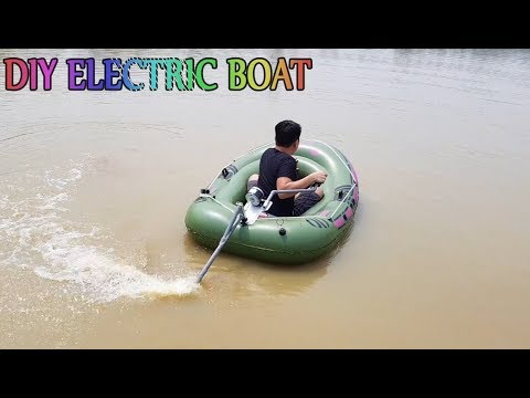 DIY Electric Boat At Home