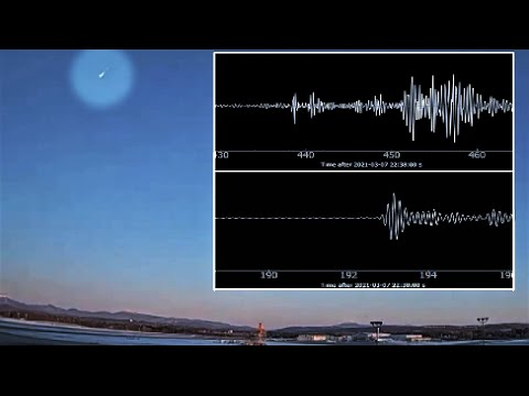 Extreme meteor explosion over New England causes earth tremors