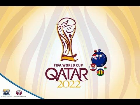 Отборочный Турнир к Чемпионату Мира 2022 с стиле CountryBalls#1 Океания!