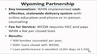 May 2012 Homeownership Education and Counseling Services Webinar