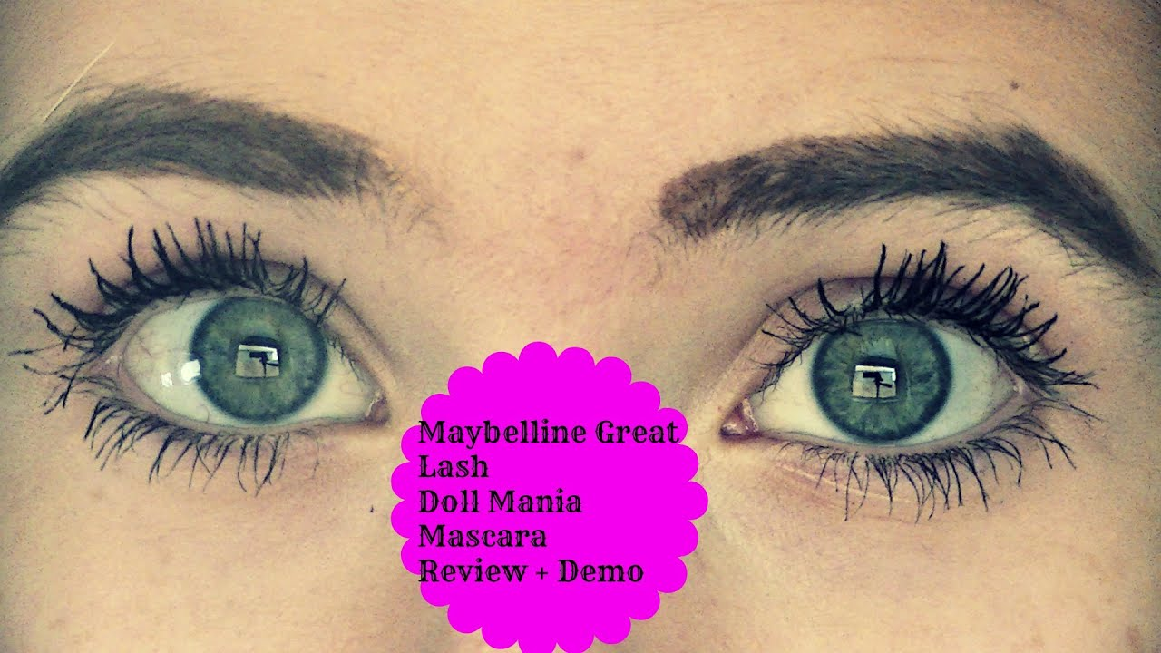 Maybelline Great Lash Doll Mania Mascara - Review + Demo - YouTube