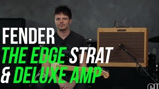 Fender The Edge Signature Stratocaster  & Deluxe Amp