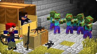 😰Операция бункер! Секретно! [ЧАСТЬ 64] Зомби апокалипсис в майнкрафт! - (Minecraft - Сериал)