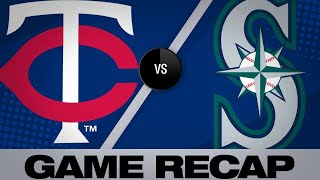 Mariners crush 3 homers in 7-4 win vs. Twins - 5/19/19