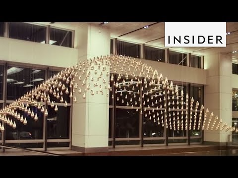Largest Kinetic Sculpture In The World.