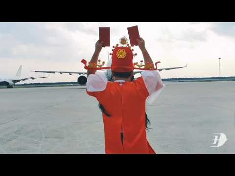 Malaysia Airlines CNY Greeting 2020 | Fattchoi Runway