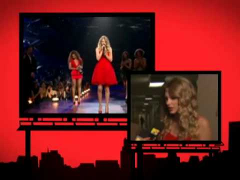 Taylor Swift Is Grateful To Beyoncé 2009 MTV Video Music Awards