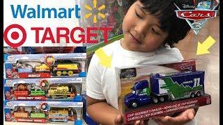 Disney Cars 2018 Toy Hunt FOUND NEW Cars 3 COMBUSTR HAULER Walmart  New Thomas & Friends Toys