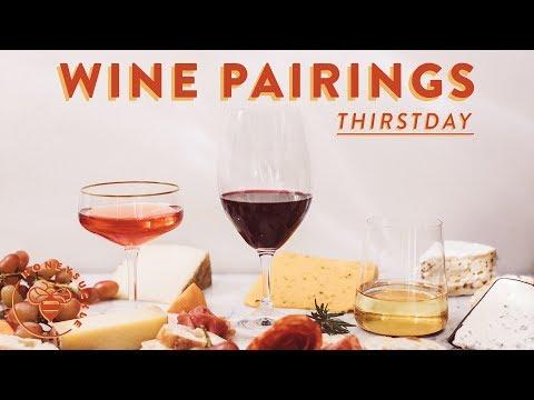 3 Basic WINE & CHEESE Pairings From Trader Joe's 💥 #THIRSTDAYS