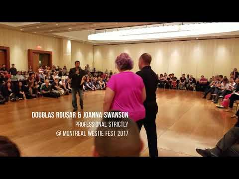 Douglas Rousar & Joanna Swanson Professional Strictly @ Montreal Westie Fest 2017