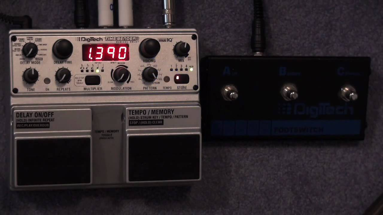 Delay Pedal With Presets : timebender delay pedal presets what is stored youtube ~ Hamham.info Haus und Dekorationen