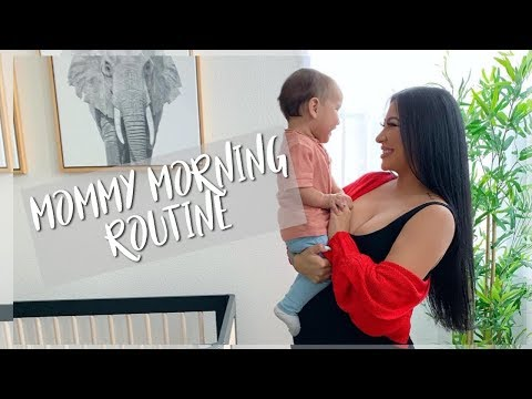 MOMMY MORNING ROUTINE || PREGNANT WITH AN INFANT
