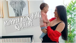 Download MOMMY MORNING ROUTINE || PREGNANT WITH AN INFANT Mp3 and Videos