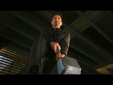 avengers:-age-of-ultron---lifting-thor's-hammer---movie-clip-hd