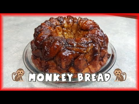 Easy monkey bread with canned biscuits