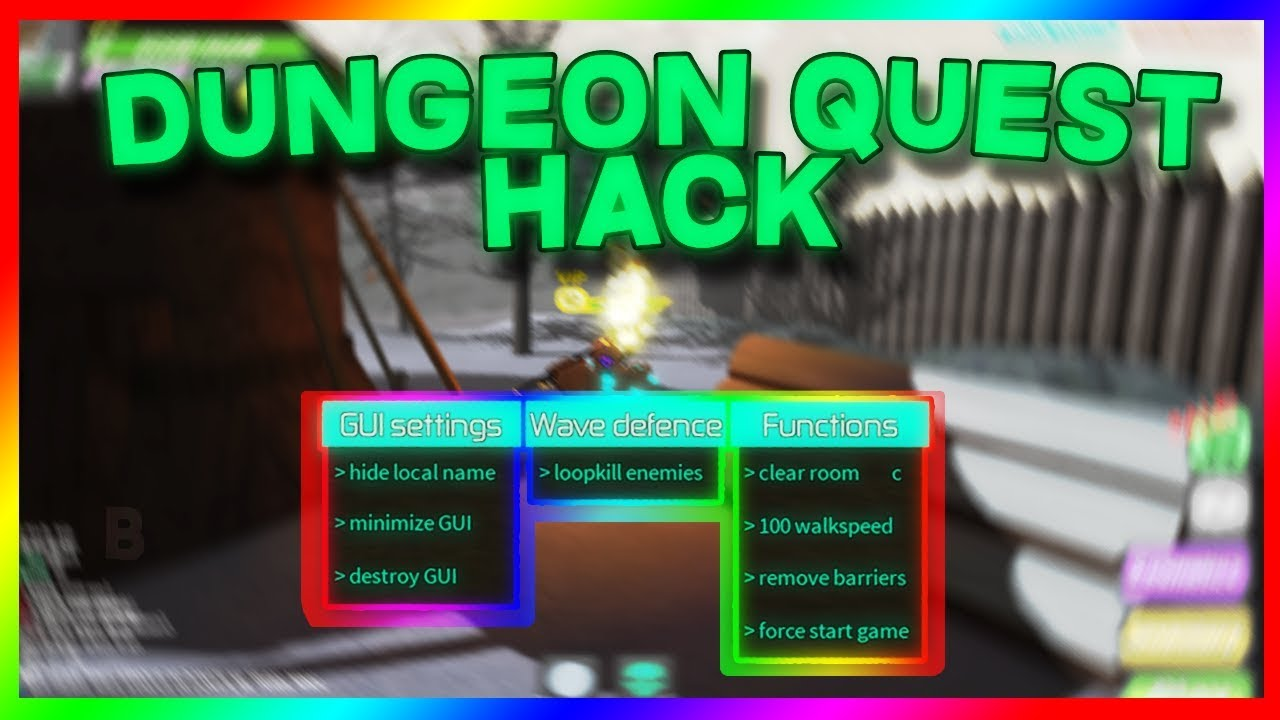 roblox quest dungeon kill farm insta update robux hack every club